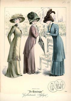 [De Gracieuse] Tailleur-kostumes (July 1909)
