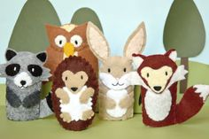 felt finger puppets - Google Search
