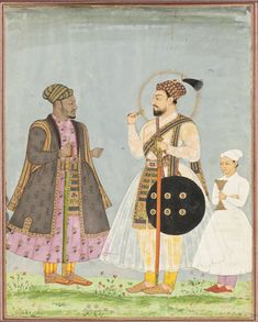 Muhammad Adil Shah of Bijapur and his African Prime Minister Ikhlas Khan
