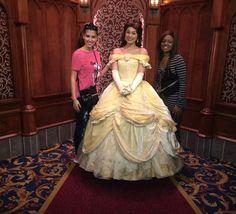 Belle at Disneyland