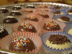 Cioccolatini http://www.greenme.it/consumare/regali/9285-10-regali-di-natale-autoprodotti