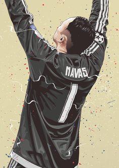 Dreams on Behance Real Madrid Wallpapers, Ronaldo Wallpapers, Football Player Drawing, Football Players, Neymar, Messi, Ronaldo Real Madrid, Football Art, Goalkeeper