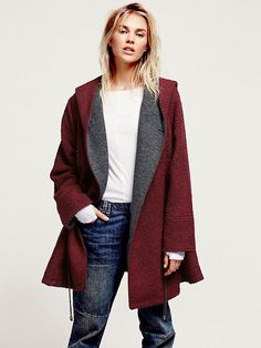 Free People Satellite Image Swing Coat at Free People Clothing Boutique
