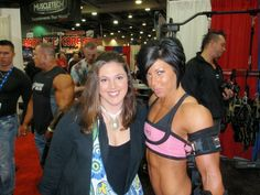 Wife and Dana at Arnold 2011