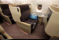 Singapore Airlines Airbus A380 business class