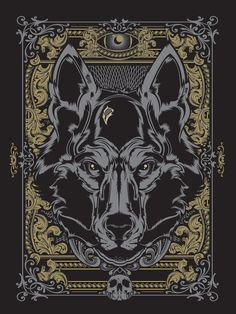 wolf illustration - Buscar con Google