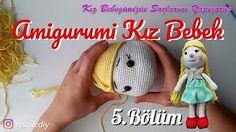 amigurumi kız bebek yapımı - YouTube