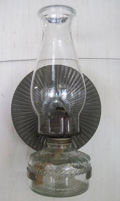 Eagle American Antique Hurricane Kerosene Oil Lamp by DaisysAttic ...