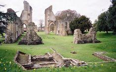 Glastonbury Abbey, England (part of the Avalon / King Arthur legend)