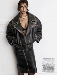 Hits de los Ochenta in Vogue Spain with Irina Shayk wearing Miu Miu,Intimissimi,Ansorena - - Fashion Editorial Fashion Week, Fashion Models, High Fashion, Color Style, My Style, Vogue Spain, Russian Models, Vogue Magazine, Look Chic