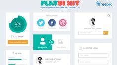 DesignerDepotKit - Flat UI
