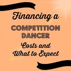 A look at the costs of financing a competition dancer - years 1, 2 and 3. This post is from a mom who has kept track of every penny spent and breaks down what you can expect to pay. Dance mom. Competitive dance.