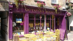 Octavia's Bookshop on Black Jack Street in Cirencester, Gloucestershire