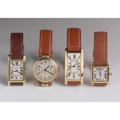 Vintage Cartier watches
