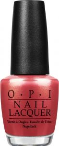 Color: Go with the Lava Flow #OPI #Vacation #Nails