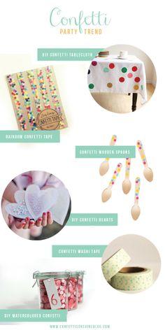 Party Trend : Confetti