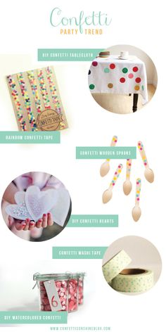 Party Trend : Confetti
