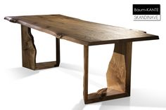 Wood Slab Dining Table, Wooden Dining Table Designs, Wood Table Legs, Wood Table Design, Timber Table, Coffee Table Design, Dining Room Table, Unique Furniture, Dining Furniture