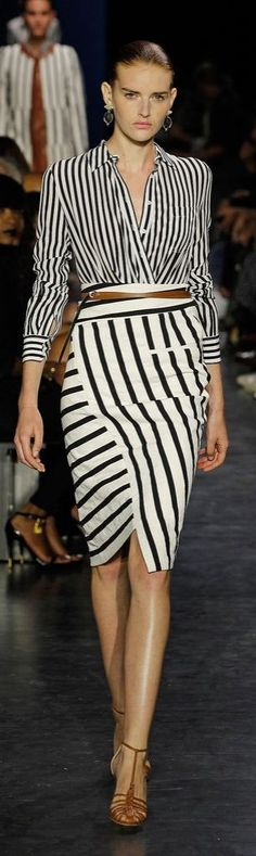 Runway fashion hacks: the wrap and tuck