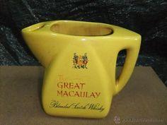 JARRA DE AGUA DEL WHISKY THE GREAT MACAULAY ÚNICA (Coleccionismos - Vinos, Licores y Aguardientes)