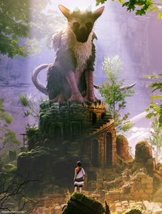 The Last Guardian by arcipello.deviantart.com on @DeviantArt
