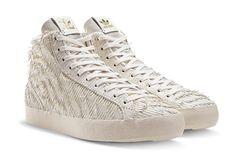adidas Luxury Sneaker White Basket Profi