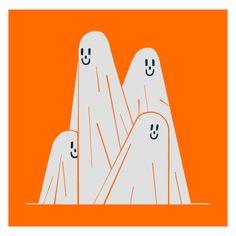 By Giacomo Bagnara Graphic Design Illustration, Graphic Art, Illustration Art, Family Illustration, Halloween Illustration, Doodle Art, Pink Lila, Posca Art, Graphic Design Inspiration