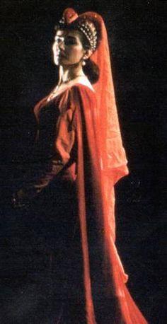 Maria Callas as Leonora in Il Trovatore