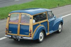 Morris Minor Traveller in immaculate condition May 2013