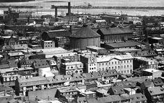 Griffintown en 1896 -- Sud-Est de rue de la Montagne