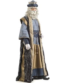 Comprar Disfraz de Rey Mago Melchor deluxe para hombre. King Costume, Sunday School Lessons, Long Vests, Christmas Costumes, Diy Costumes, Christianity, Nativity, Cosplay, Drawings