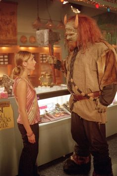 Olaf the Troll God. Anya used to date him, and Buffy inherited his hammer.