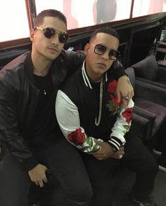 (Pretty boy) Maluma and (Big Boss) Daddy Yankee Daddy Yankee, Puerto Rican Singers, Puerto Ricans, American Singers, Record Producer, Pretty Boys, Rapper, Pilot, Boss