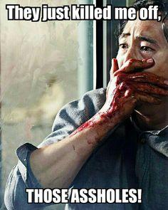They killed me Glenn