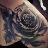 Image result for black rose tattoo ankle tattoo
