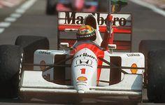 Piloto Ayrton Senna, McLaren Honda, Hungría 1992