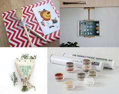 Bakers | Cooks | Food lovers Terrapin and Toad: Etsy gift guide and wrapping ideas