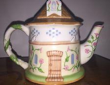 "Lenox Fine Porcelain ""Dovecote Teapot"" The English Garden Teapot Collec. Spring"