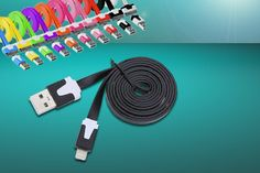 Anti-Tangle Charger Cable