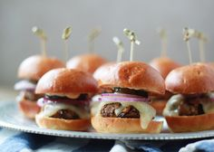 Spicy Black Bean Sliders with Chipotle Mayo