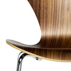 One word: Beautiful.  Jacobsen Series 7 Wood Chair: http://www.danishdesignstore.com/products/jacobsen-series-7-chair-wood-3107-fritz-hansen-wood-series