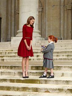 Pin & Win! Classic chic. Lady in red #alfani #dress #macysfallstyle BUY NOW! #macysfallstyle