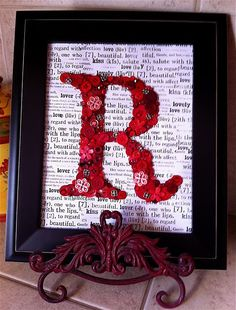 Already made 4 of these with old songbook pages.