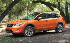 Subaru XV Crosstrek. Need it to carry my golf clubs.