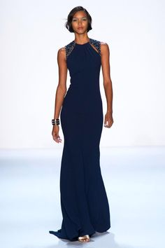 Badgley Mischka, New York, Spring 2014
