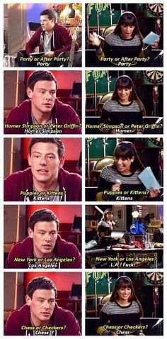 They got all the same answers.... Monchele