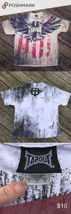 Tapout T-Shirt Tapout T-Shirt, Size XL, Gently Used, Non-Smoking Home. Tapout Shirts Tees - Short Sleeve