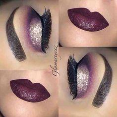 Dark cherry color match up