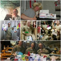 Care Packages = SMILES!