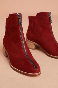 Slide View: 1: Matiko Mylvia Zipped Ankle Boots